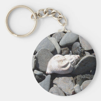 By The Seashore Key Chain