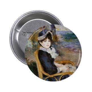 By the Seashore - Pierre-Auguste Renoir Pin
