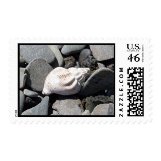 By The Seashore Stamp