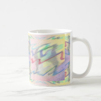 By the Seaside Colorfully Abstract Mug