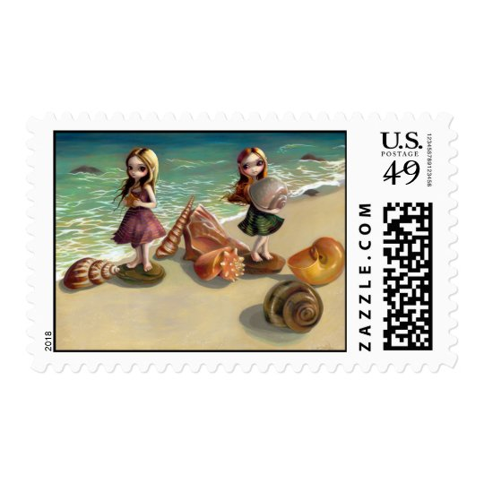 """""""By the Seaside"""" Stamp"""