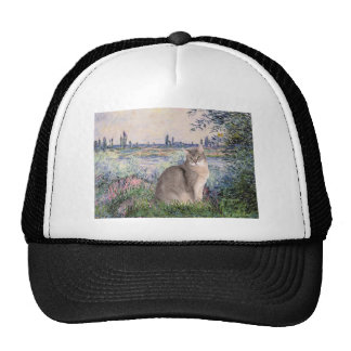 By the Seine - Abyssinian (blue 21) Mesh Hats