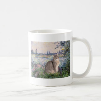 By the Seine - Abyssinian (blue 21) Coffee Mugs