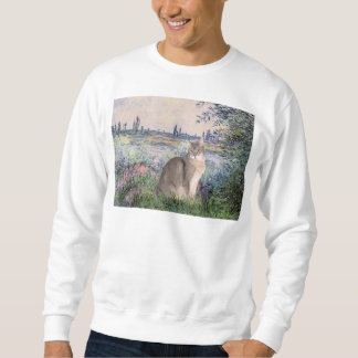 By the Seine - Abyssinian (blue 21) Sweatshirt