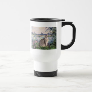By the Seine - Abyssinian (blue 21) Travel Mug