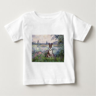 By the Seine - Basenji Baby T-Shirt