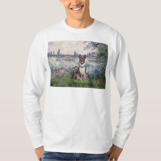 By the Seine - Basenji T-Shirt