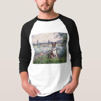 By the Seine - Basenji T-Shirt