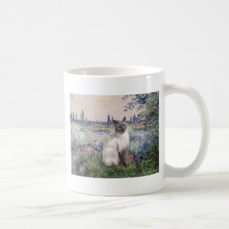 By the Seine - Blue Point Siamese cat Coffee Mugs