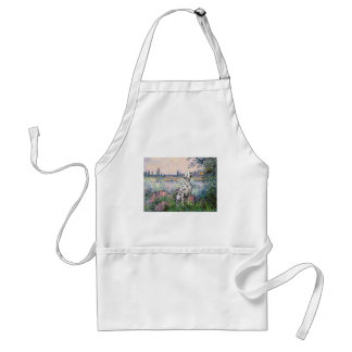 By the Seine - Dalmatian Adult Apron