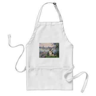 By the Seine - German Shepherd 9 Adult Apron