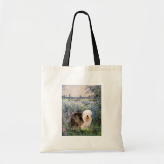 By the Seine - Old English 12 Tote Bag