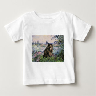 By the Seine - Persian Calico cat Baby T-Shirt
