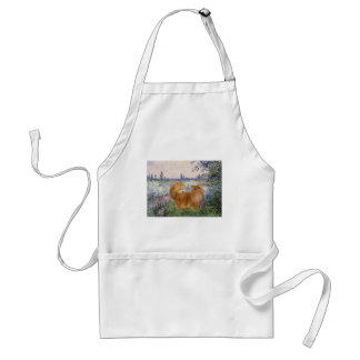 By the Seine - Red Persian cat Adult Apron
