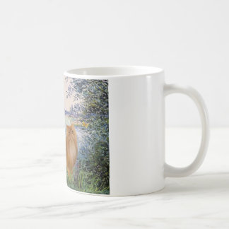 By the Seine - Red Persian cat Coffee Mugs