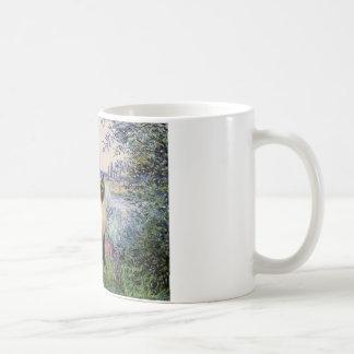 By the Seine - Seal Point Siamese cat Coffee Mug
