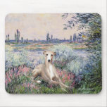 By the Seine - Whippet #2 Mousepads