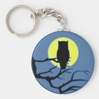 By the Shadow of the Moon Keychain