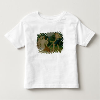 By the sweat of thy brow toddler t-shirt