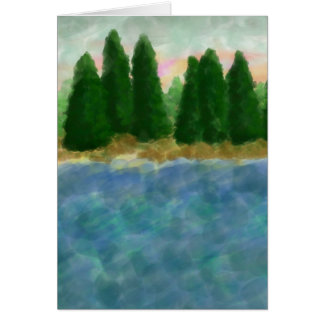By The Water 3 Card