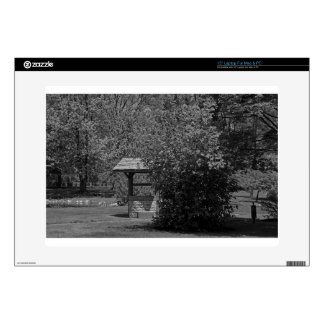 "By the Wishing Well-horizontal 15"" Laptop Skins"