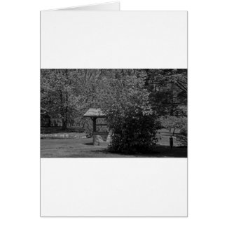 By the Wishing Well-horizontal Card
