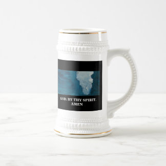 BY THY SPIRIT BEER STEIN