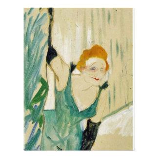 By Toulouse-Lautrec Henri De Full Color Flyer