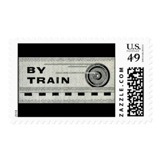 By Train – At One time everything went By Train Postage
