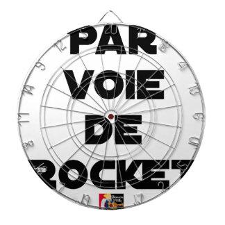BY WAY OF ROCKET - Word games - François City Dartboard