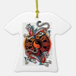 byakko 1 Double-Sided T-Shirt ceramic christmas ornament