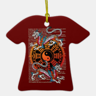 byakko 2 Double-Sided T-Shirt ceramic christmas ornament