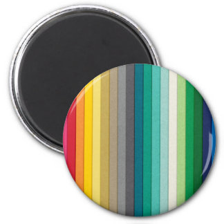 BYB2 SOLID STRIPES WALLPAPER BACKGROUNDS COLORFUL MAGNET