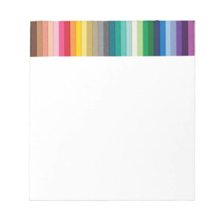 BYB2 SOLID STRIPES WALLPAPER BACKGROUNDS COLORFUL NOTEPAD
