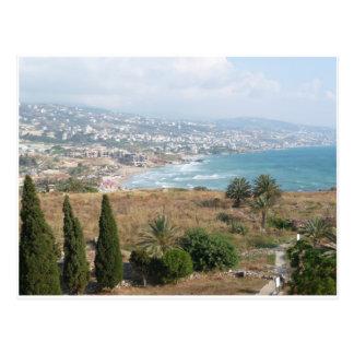 Byblos Líbano Tarjetas Postales