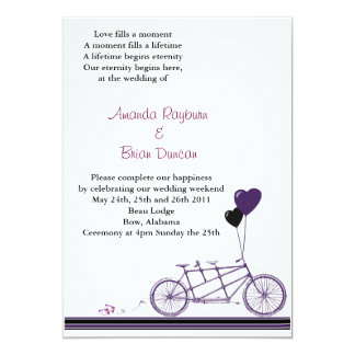 Bycicle invitation