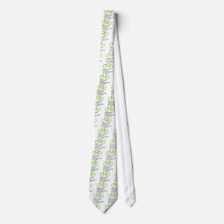 Bycicle: Modern Ecology Neck Tie