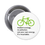 Bycicle: Modern Ecology Pin