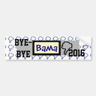 Bye-bye Bama Bumper Sticker