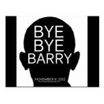 Bye Bye Barry - 2012 Election Postcard
