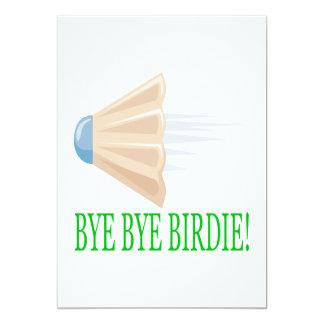 Bye Bye Birdie Card