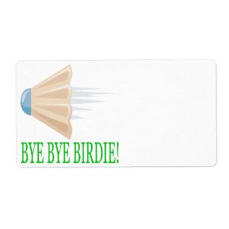 Bye Bye Birdie Label