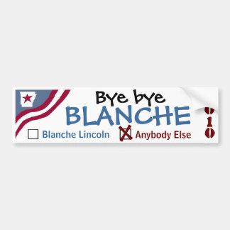 Bye bye Blanche Car Bumper Sticker