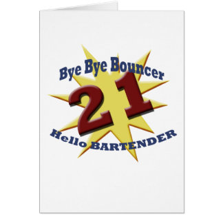 bye bye bouncer card