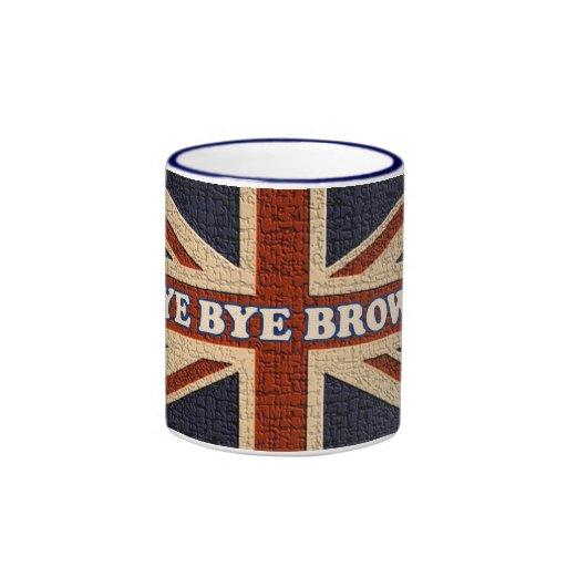 Bye Bye Brown! ~ Political U.K General Election Mugs