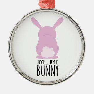 Bye, Bye Bunny Christmas Tree Ornaments