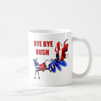 Bye Bye Rush - Healthcare satire coffe mug