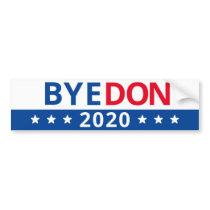 BYE DON 2020 BUMPER STICKER