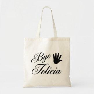 Bye Felicia Fancy Waving Hand Tote Bag