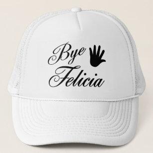 aae4e3ac8b6 Bye Felicia Fancy Waving Hand Trucker Hat